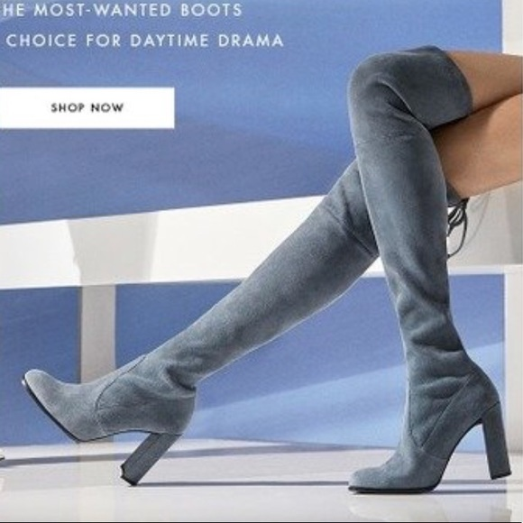 0e27b1fcb51 Stuart Weitzman Hiline Over the Knee Boots size 8